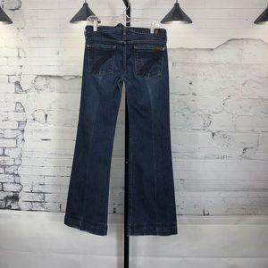 7 For All ManKind Dojo's Wide Leg Denim Jeans 440